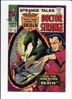Strange Tales #152 January 1967 Jack Kirby Jim Steranko Doctor Strange SHIELD