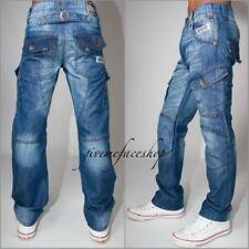 Herren-Jeans im Hip-Hop -/Baggy-Stil aus Denim Hosengröße 32GB