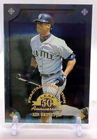 Ken Griffey Jr. 1998 Leaf FRACTAL FOUNDATION #100 7023999 Mariners HOF MINT