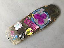 Vintage Lester Kasai Designs Tracker Skateboard deck - Signed by Rodney Mullin