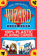 Wizard Playing Cards 100% Plastic NEW Sealed Deck Washable Fun Game of Strategy