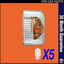 PEUGEOT BOXER / Wing Mirror Side Indicator Light Lens / LEFT 71748252