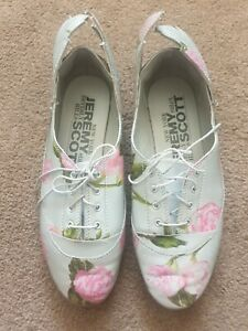Adidas Original Easy 5 Wings Jeremy Scott Lace Up Reflective Grey Floral  Sz 5