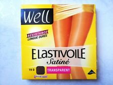 WELL COLLANT ELASTIVOILE SATINE 19 DEN TAILLE 4 COULEUR IBIZA