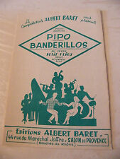 Partitur Pipo Banderilleros Albert Baret