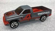 Hot Wheels Race Truck Gray Dodge Ram 1500  #4 As Seen Rare Mint Loose