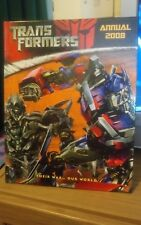 Transformers Annual 2008, Excellent Condition, Very Good Condition