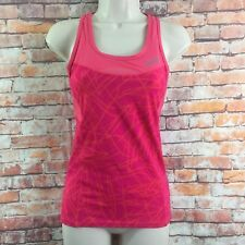 Zoot Women's Size Medium Pink Performance Stretch Fitness Athletic Top Built Bra