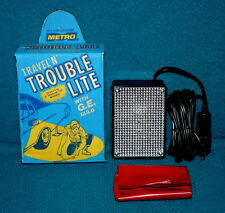 Vintage/New : METRO Travel 'n' TROUBLE LITE @ Auto/Boat EMERGENCY FLASHLIGHT