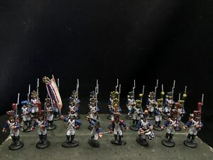 28mm DPS Painted Napoleonic War French Line Infantry , Warlord Games GH3082