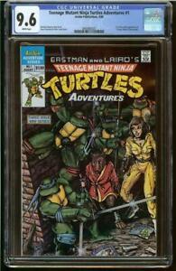 Teenage Mutant Ninja Turtles Adventures #1 CGC 9.6 (1988 Mini-Series)