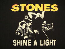 The Rolling Stones RIFF STARS Shine a Light concert T shirt M