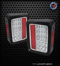Tail Lights Jeep Wrangler 2007-2013 LED - Chrome