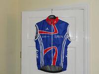 Team Issue GB DP SKY 2012 development cycling bike gilet jersey shirt windvest