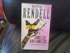 Some Lie and Some Die-Ruth Rendell Paperback English Genre Fiction Arrow 1974