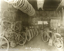 Excelsior Autocycle Motorcycle Show Room Oshkosh Wisconsin 1920 Signs Posters