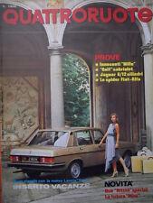 Quattroruote 297 1980 - Test Golf Cabriolet - Jaguar 6/12 cilindri     [Q36]
