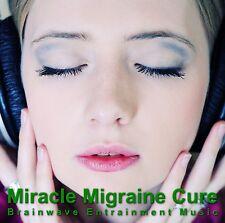 Miracle Migraine Cure Binaural Beats Meditation CD hemi sync holosync