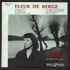 MONIQUE MORELLI  RARISSIME 1er 25CM de 1958 FLEUR DE BERGE Photo Robert DOISNEAU