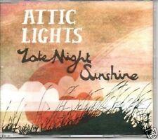 (1S) Attic Lights, Late Night Sunshine - DJ CD