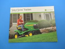 Original John Deere Sale Brochure Select Series Tractors X300-X700 NOS M3004
