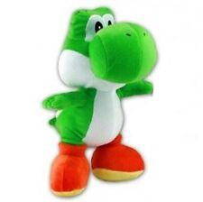 Nintendo Plüsch Figur Yoshi 21 cm Grün - Super-Mario Stofftier Kuscheltier