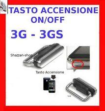 Tasto Accensione spegnimento ON/OFF per iPhone 3G 3GS