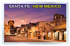SANTA FE NEW MEXICO FRIDGE MAGNET SOUVENIR IMAN NEVERA