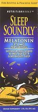 Sleep Soundly Melatonin, 2 oz for restfull and peacefull sleep