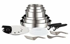 Tefal L9409602 Set de Poêles et casseroles - Ingenio inox Pi&#xe8