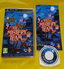THE MYSTERY TEAM - Sony PSP - Versione Ufficiale Italiana ○○ COMPLETO - AT