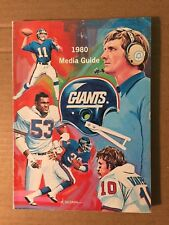 1980 NY Giants NFL Football Media Guide GOOD+ Condition