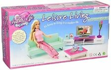 My Fancy Life Barbie Size Dollhouse Furniture Leisure Living Room Play Set