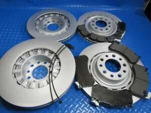 Bentley Mulsanne front rear brake pads and rotors #6744 TopEuro