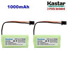 2 x 2.4V 1000mAh AAA MSM Phone Battery for Uniden BT-1008 BT-1016 BT1021 BT1025