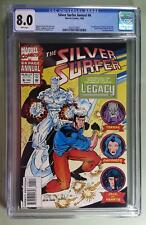 SILVER SURFER ANNUAL 6 CGC (8.0) 1st APP LEGACY WHO BECOMES CAPTAIN MARVEL*