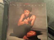 ANITA BAKER RAPTURE CD CLASSUC 80s SOUL SWEET LOVE MYSTERY SAME OLD LOVE SO LONG