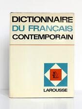 Dictionnaire du français contemporain. Librairie Larousse, 1966. Relié toile.