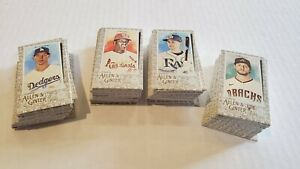 Lot of (131) - 2020 Topps Allen & Ginter GOLD BORDER MINI PARALLELS - No Dupes