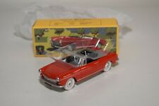 TT 1:43 QUIRALU PEUGEOT 404 CABRIOLET RED MINT BOXED