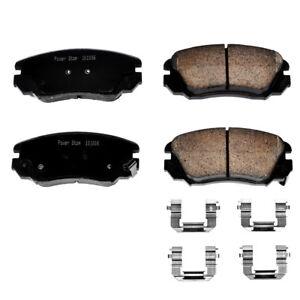 Disc Brake Pad Set-Z17 Evolution Plus Disc Brake Pad Front Power Stop 17-1421