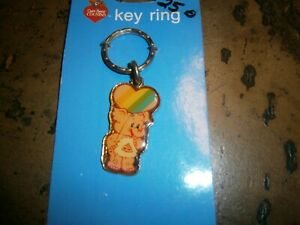 MINT ON CARD CARE BEAR COUSIN METAL KEY RING - ELEPHANT