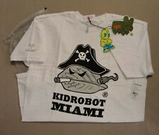 Frank Kozik Kidrobot Mens Medium Captain Blood Miami Shirt Mongers *NEW*