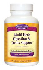 NATURE'S SECRET MULTI-HERB DIGESTION & DETOX SUPPORT,SAMEAS HARMONY FORMULAS 275