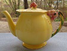 Royal Winton Yellow Tiger Lily Teapot