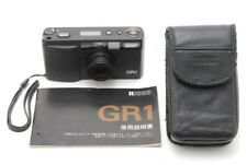【MINT + Case】 Ricoh GR1 Black 35mm Point & Shoot Film Camera 28mm F2.8 JAPAN e81