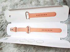 Genuine Apple Sport Watch Strap 38mm both S/M & M/L Peachy Pink *New*