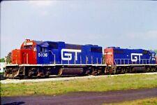 Original Slide Grand Trunk Diesel Engine #5716 Willard, Ohio (1992) #CC408