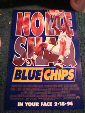 BLUE CHIPS - MOVIE POSTER WITH SHAQ AND NICK NOLTE
