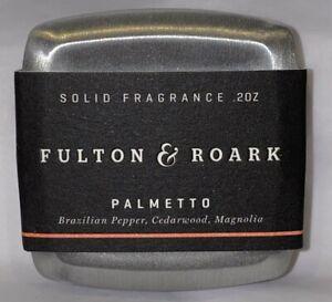 Fulton & Roark Palmetto Solid Cologne .2 oz Cedarwood Magnolia Brazilian Pepper